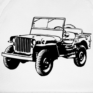 T-shirt: Willys Jeep - Baseball Cap