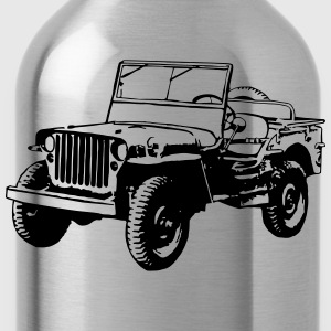 T-shirt: Willys Jeep - Water Bottle