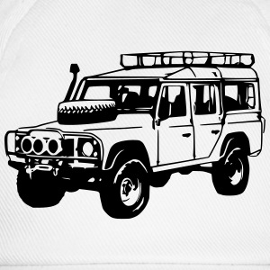 T-Shirt: Land Rover Defender, Jeep, SUV - Baseball Cap