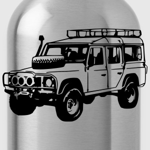 T-Shirt: Land Rover Defender, Jeep, SUV - Water Bottle
