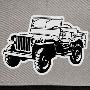 T-shirt: Willys Jeep - Snapback Cap