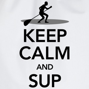 Keep Calm And SUP T-skjorter - Gymbag