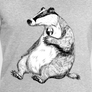 Badger with Wine T-Shirts - Männer Sweatshirt von Stanley & Stella
