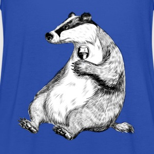 Badger with Wine T-Shirts - Women's Tank Top by Bella