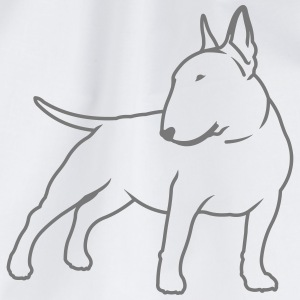 Bullterrier cn_single_1c_4light T-Shirts - Turnbeutel