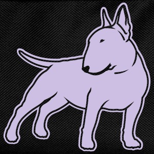 Bull Terrier cn_single_1c_4dark T-Shirts - Kids' Backpack