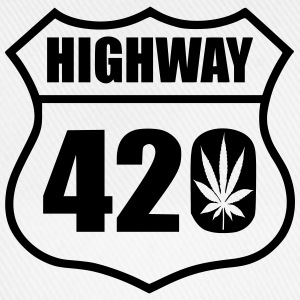 highway 420 feuille Tee shirts - Casquette classique