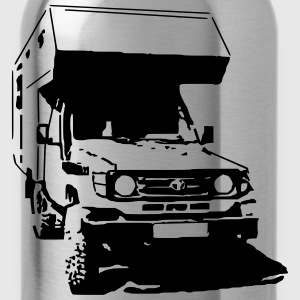 T-Shirt: Bushcamper, Jeep - Water Bottle