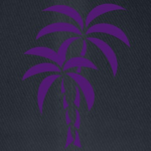 Palm Tree / Tattoo Style / Vector / Camisetas - Gorra de béisbol Flexfit