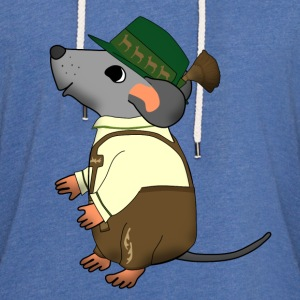 bavarian mouse Sweaters - Lichte hoodie unisex