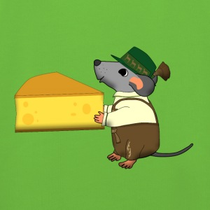 bavarian mouse with cheese Bags & backpacks - Kids' Premium Hoodie