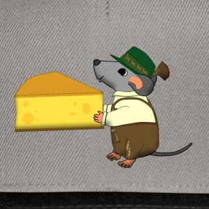 bavarian mouse with cheese Bags & backpacks - Snapback Cap