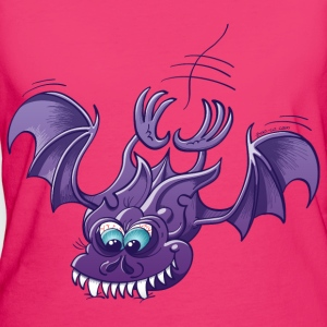 Bat Sinking its Fangs into Fresh Flesh Bags & backpacks - Women's Organic T-shirt