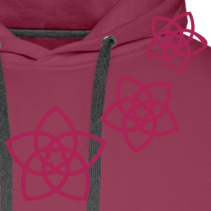 Venus flowers Vector - FLOWER OF LOVE, (2), symbol of love, balance and beauty Camisetas - Sudadera con capucha premium para hombre