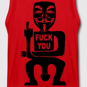 fuck you Hoodies & Sweatshirts - Men's Premium Tank Top