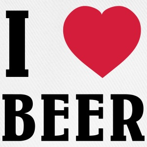 I Love Beer T-shirts - Basebollkeps