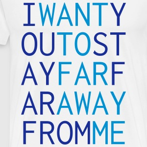 far_away Sweatshirts - Herre premium T-shirt