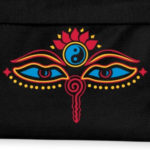Buddha Eyes, Lotus, symbol wisdom & enlightenment T-shirts - Rygsæk til børn