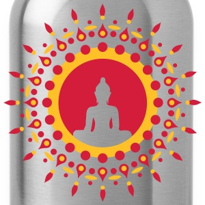 Buddha meditation, spiritual symbol enlightenment Hoodies & Sweatshirts - Water Bottle