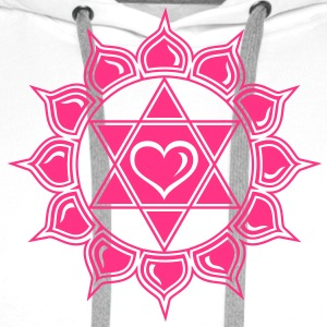 Heart chakra - Anahata, c, Centre of love and compassion Camisetas - Sudadera con capucha premium para hombre