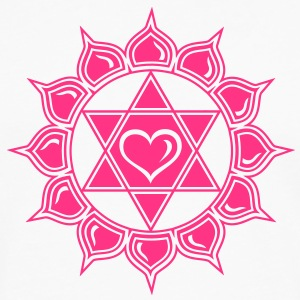 Heart chakra - Anahata, c, Centre of love and compassion Camisetas - Camiseta de manga larga premium hombre