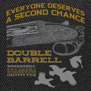 double_barrel_double_chance T-Shirts - Snapback Cap
