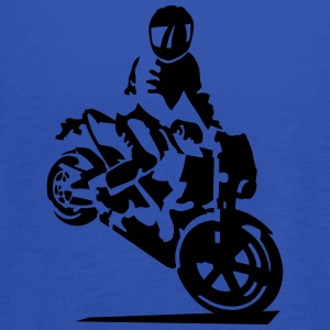 motorcycle stunt T-Shirts - Women's Tank Top by Bella