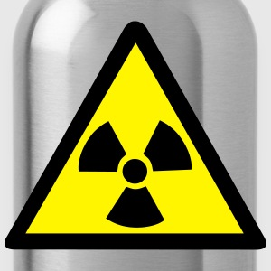 Radioactive Warning Symbol T-Shirts - Water Bottle