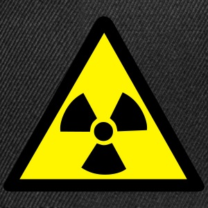 Radioactive Warning Symbol T-Shirts - Snapback Cap