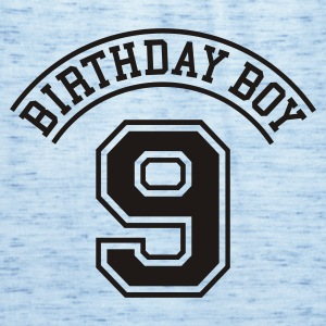 Celeste Birthday boy 9 jaar (rugprint) Kinder shirts - Vrouwen tank top van Bella