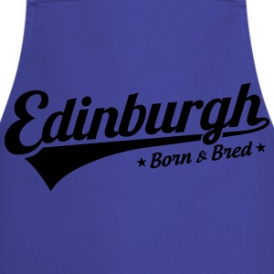 Edinburgh Born & Bred Childrens T Shirt Blue - Cooking Apron