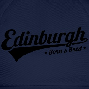 Edinburgh Born & Bred Childrens T Shirt Blue - Baseball Cap