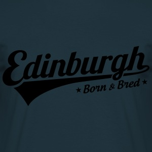 Edinburgh Born & Bred Mens Hoody - Men's T-Shirt
