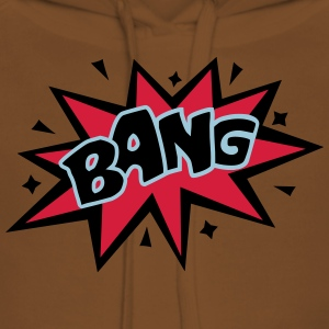 BANG, Comic, Cartoon Style, Sprechblase, Boom, Fun - Frauen Premium Hoodie