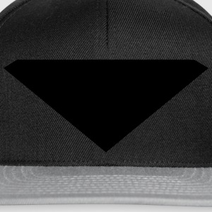 triangle - hero style  T-Shirts - Snapback Cap