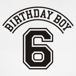 Light blue Birthday boy 6 years Kids' Shirts - Baseball Cap
