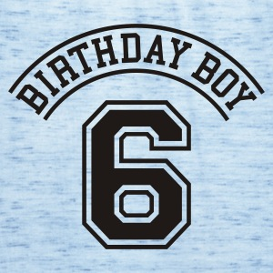 Light blue Birthday boy 6 years Kids' Shirts - Women's Tank Top by Bella