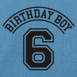 Light blue Birthday boy 6 years Kids' Shirts - Shoulder Bag made from recycled material