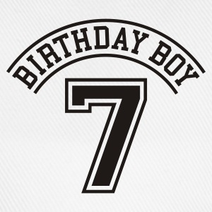 Light blue Birthday boy 7 years Kids' Shirts - Baseball Cap