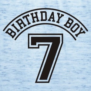 Light blue Birthday boy 7 years Kids' Shirts - Women's Tank Top by Bella