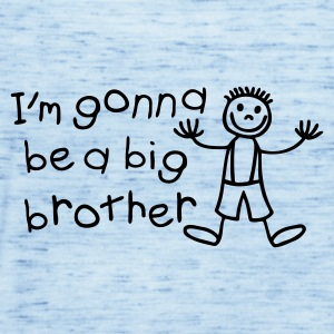 Light blue I'm gonna be a big brother Kids' Shirts - Women's Tank Top by Bella