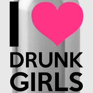 I Love Drunk Girls Felpe - Borraccia