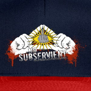 no subservient Sweat-shirts - Casquette snapback