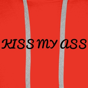 Kiss My Ass Underwear - Men's Premium Hoodie