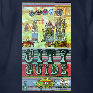city-guide I T-Shirt Shirts - Organic Short-sleeved Baby Bodysuit