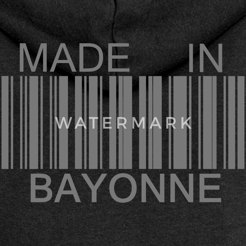 Made in Bayonne Sweat-shirts - Veste à capuche Premium Femme