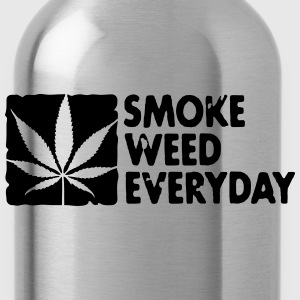 smoke weed everyday boxed Sweatshirts - Drikkeflaske