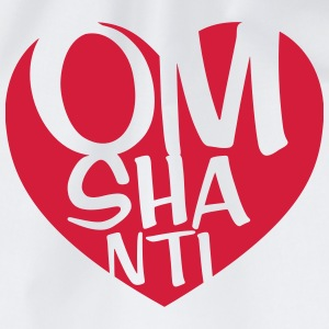 Om Shanti T-Shirts - Drawstring Bag