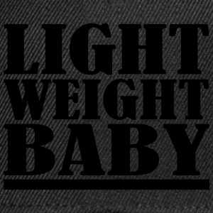 Light Weight Baby T-shirts - Snapback cap