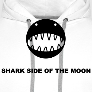 Shark side of the moon T-Shirts - Men's Premium Hoodie